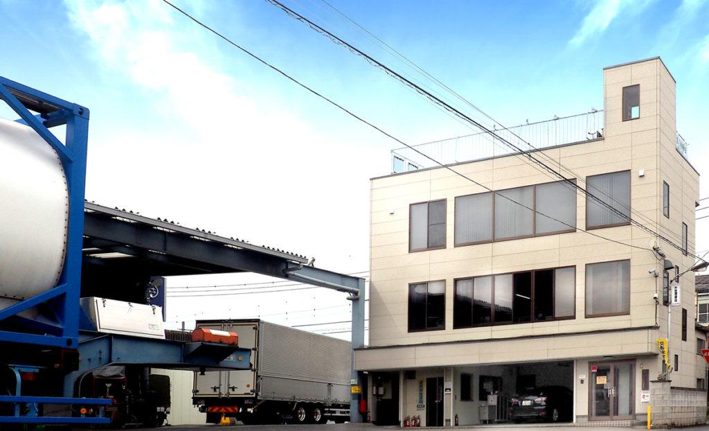 吉澤運送の本社事業所